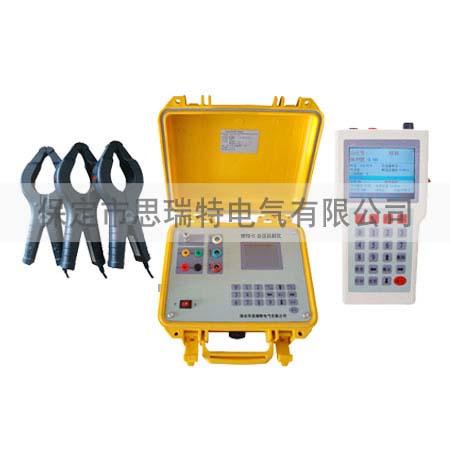 将主机安装在待测变压器的低压出线端子